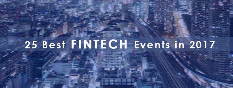25 Best Fintech Events in 2017